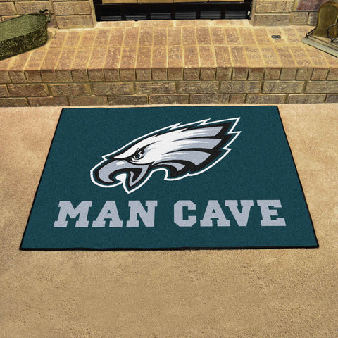 "NFL - Philadelphia Eagles Man Cave All-Star Mat 33.75""x42.5"""