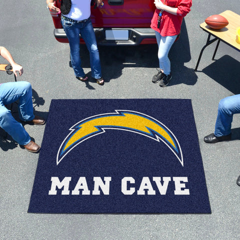 NFL - Los Angeles Chargers Man Cave Tailgater Rug 5'x6'