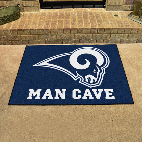 "NFL - Los Angeles Rams Man Cave All-Star Mat 33.75""x42.5"""