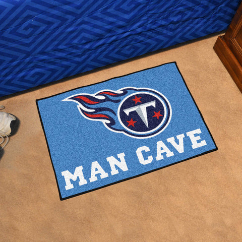 "NFL - Tennessee Titans Man Cave Starter Rug 19""x30"""