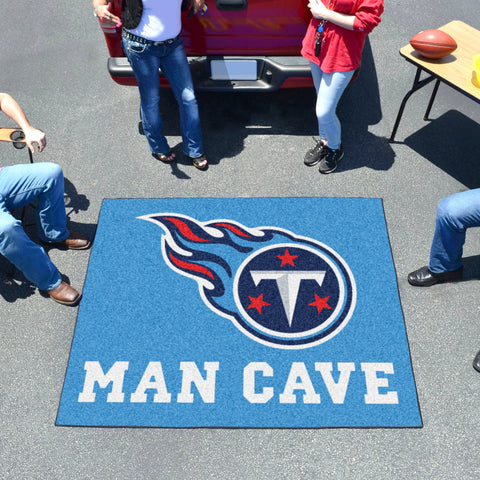 NFL - Tennessee Titans Man Cave Tailgater Rug 5'x6'