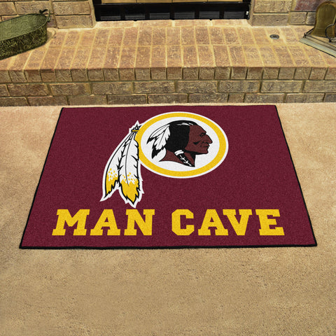 "NFL - Washington Redskins Man Cave All-Star Mat 33.75""x42.5"""