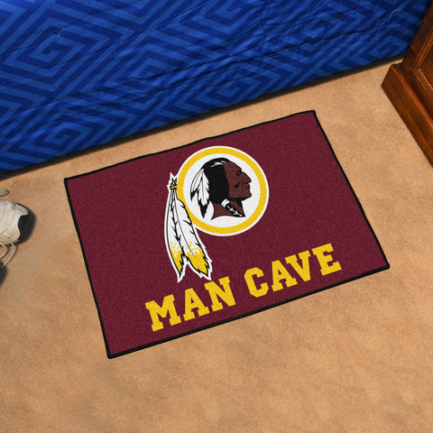 "NFL - Washington Redskins Man Cave Starter Rug 19""x30"""