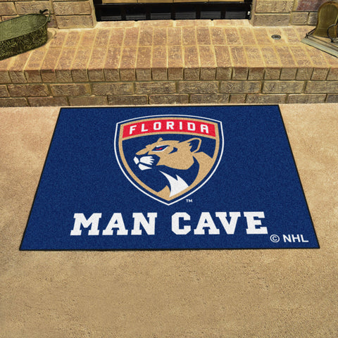 "NHL - Florida Panthers Man Cave All-Star Mat 33.75""x42.5"""