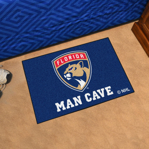 "NHL - Florida Panthers Man Cave Starter Rug 19""x30"""