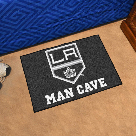 "NHL - Los Angeles Kings Man Cave Starter Rug 19""x30"""
