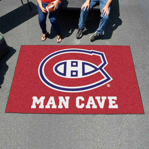NHL - Montreal Canadiens Man Cave UltiMat 5'x8' Rug