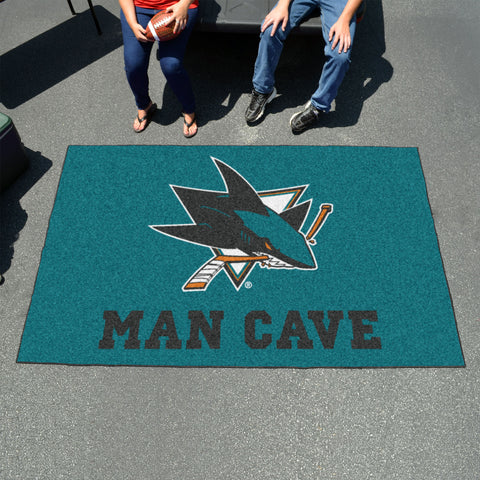 NHL - San Jose Sharks Man Cave UltiMat 5'x8' Rug