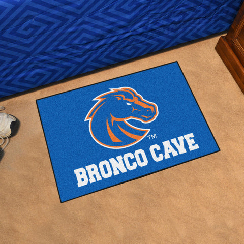 "Boise State Man Cave Starter Rug 19""x30"""