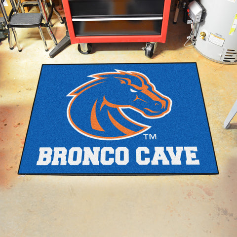 "Boise State Man Cave All-Star Mat 33.75""x42.5"""