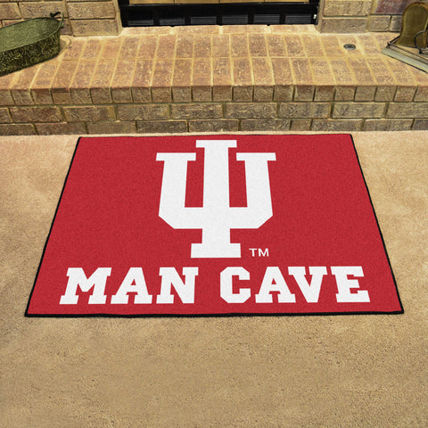 "Indiana Man Cave All-Star Mat 33.75""x42.5"""