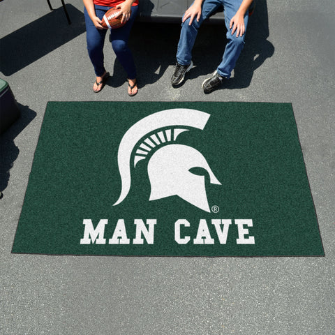Michigan State Man Cave UltiMat 5'x8' Rug
