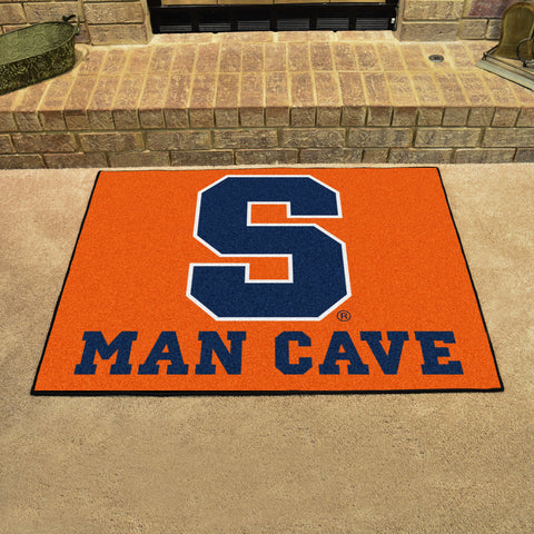 "Syracuse Man Cave All-Star Mat 33.75""x42.5"""