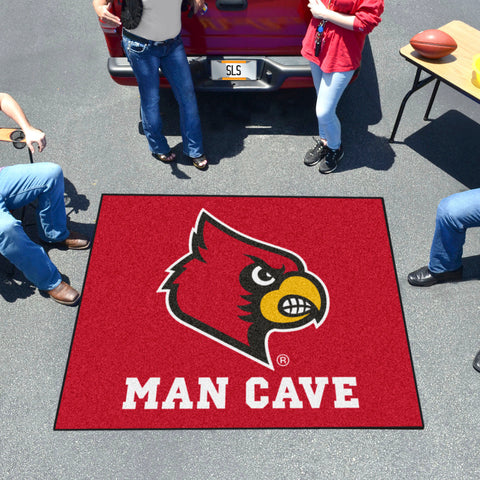 Louisville Man Cave Tailgater Rug 5'x6'