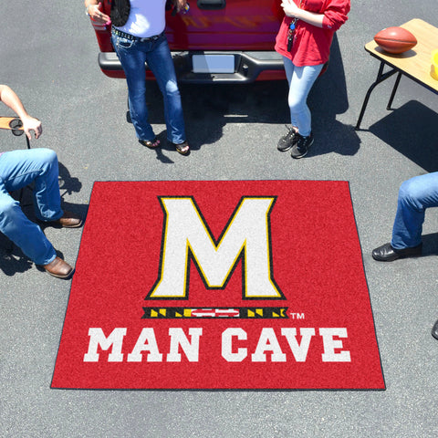 Maryland Man Cave Tailgater Rug 5'x6'