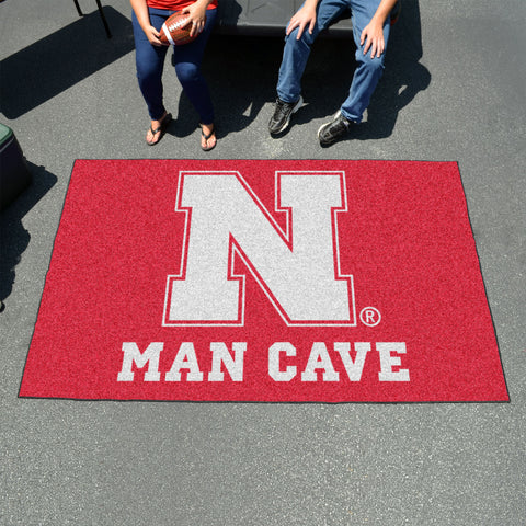 Nebraska Man Cave UltiMat 5'x8' Rug
