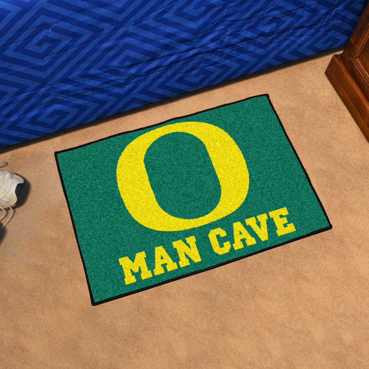 Man Cave East Bethel : Oregon man cave starter rug quot x sports fan perks