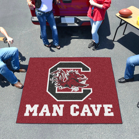 South Carolina Man Cave Tailgater Rug 5'x6'
