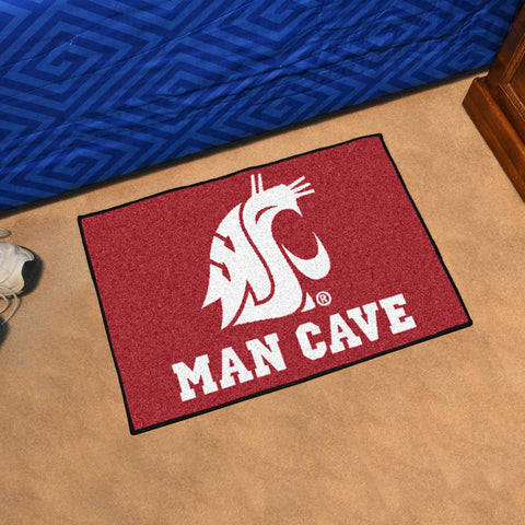 "Washington State Man Cave Starter Rug 19""x30"""