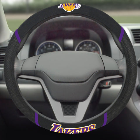 "NBA - Los Angeles Lakers Steering Wheel Cover 15""x15"""