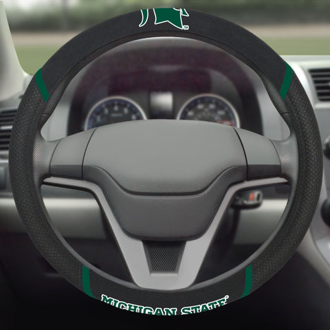 "Michigan State Steering Wheel Cover 15""x15"""