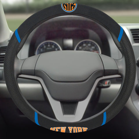 "NBA - New York Knicks Steering Wheel Cover 15""x15"""