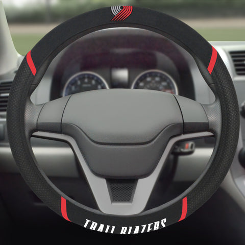 "NBA - Portland Trail Blazers Steering Wheel Cover 15""x15"""