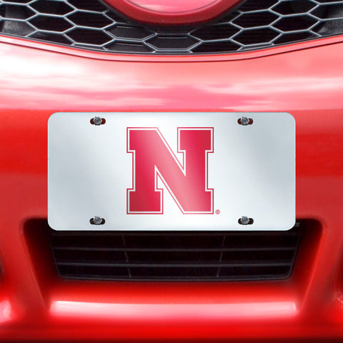 "Nebraska License Plate Inlaid 6""x12"""