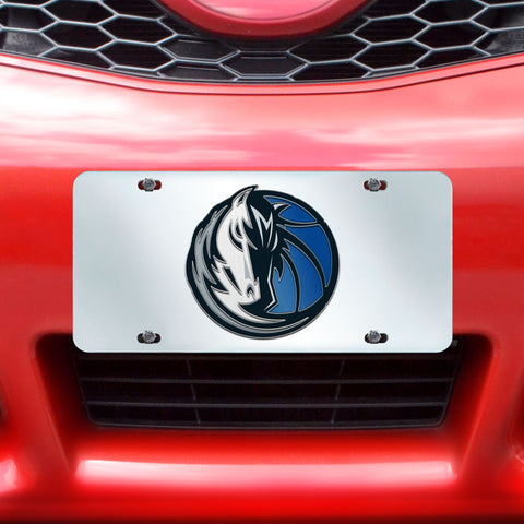 "NBA - Dallas Mavericks License Plate Inlaid 6""x12"""