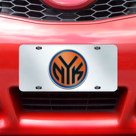 "NBA - New York Knicks License Plate Inlaid 6""x12"""