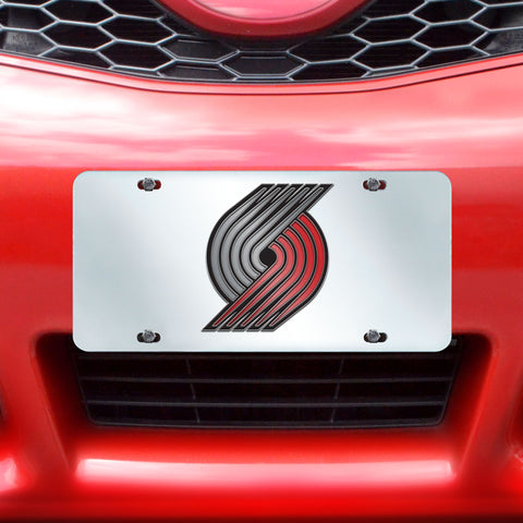 "NBA - Portland Trail Blazers License Plate Inlaid 6""x12"""