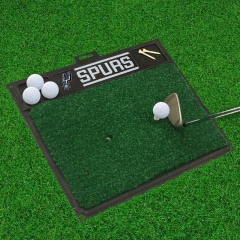 "NBA - San Antonio Spurs Golf Hitting Mat 20"" x 17"""