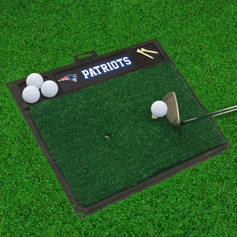 "NFL - New England Patriots Golf Hitting Mat 20"" x 17"""