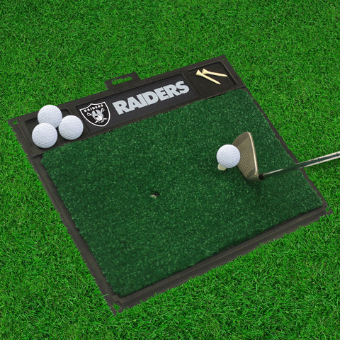 "NFL - Oakland Raiders Golf Hitting Mat 20"" x 17"""