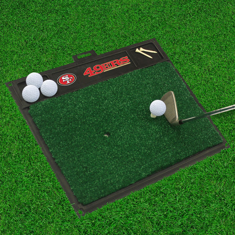 "NFL - San Francisco 49ers Golf Hitting Mat 20"" x 17"""