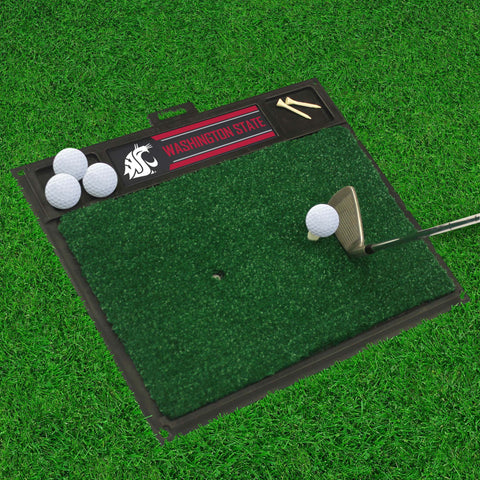 "Washington State Golf Hitting Mat 20"" x 17"""