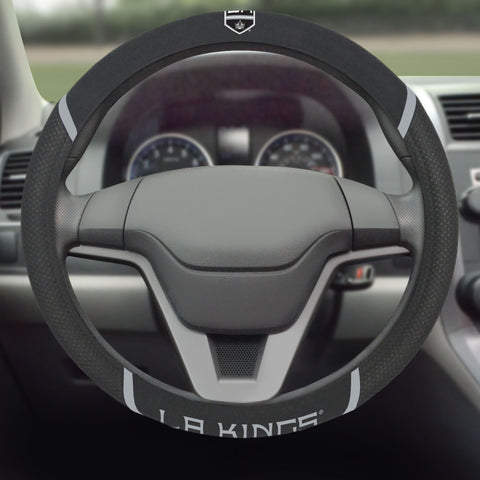 "NHL - Los Angeles Kings Steering Wheel Cover 15""x15"""