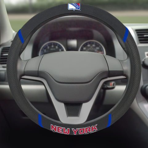 "NHL - New York Rangers Steering Wheel Cover 15""x15"""