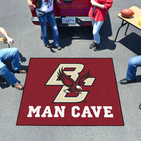 Boston College Man Cave Tailgater Rug 5'x6'