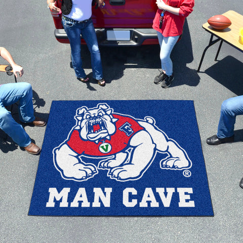 Fresno State Man Cave Tailgater Rug 5'x6'