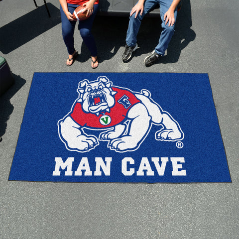 Fresno State Man Cave UltiMat 5'x8' Rug