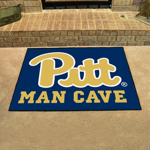 "Pittsburgh Man Cave All-Star Mat 33.75""x42.5"""