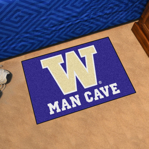 "Washington Man Cave Starter Rug 19""x30"""