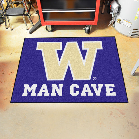 "Washington Man Cave All-Star Mat 33.75""x42.5"""