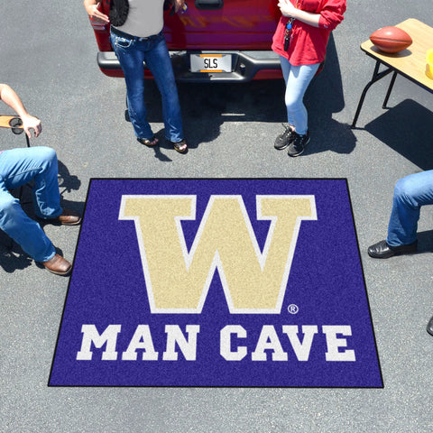 Washington Man Cave Tailgater Rug 5'x6'