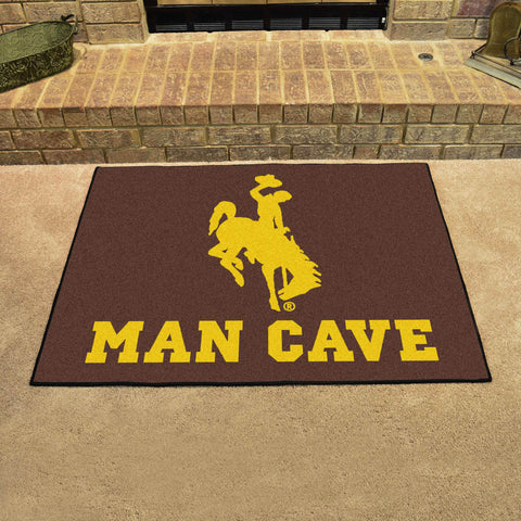 "Wyoming Man Cave All-Star Mat 33.75""x42.5"""