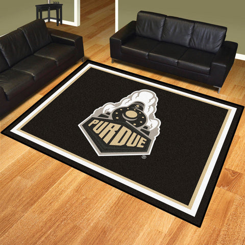 Purdue 'Train' 8'x10' Rug