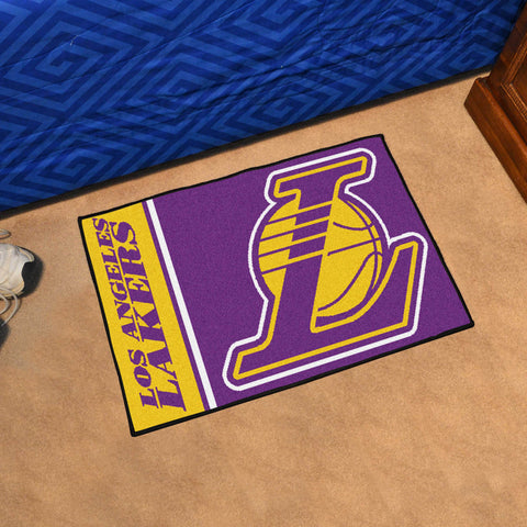 "NBA - Los Angeles Lakers Uniform Starter Rug 19""x30"""