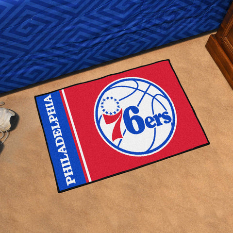 "NBA - Philadelphia 76ers Uniform Starter Rug 19""x30"""