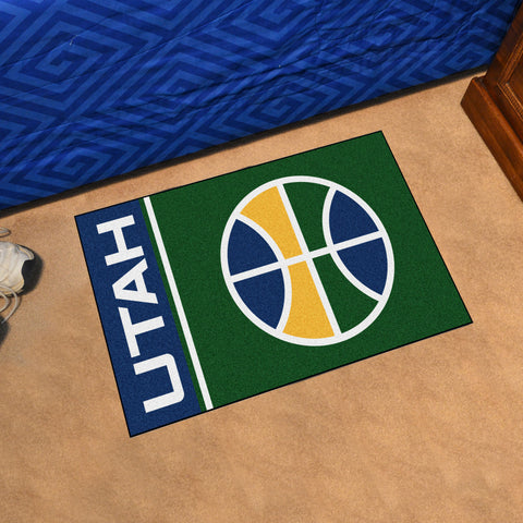 "NBA - Utah Jazz Uniform Starter Rug 19""x30"""